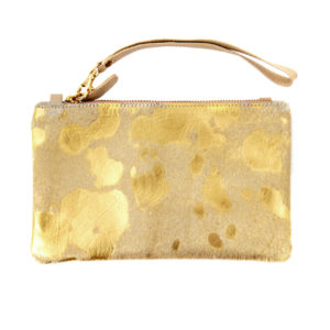 carol bag nguni gold